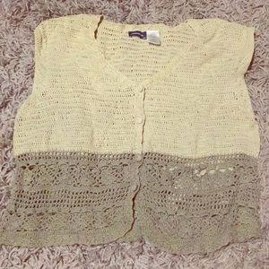 Vintage Jordache Knit Vest
